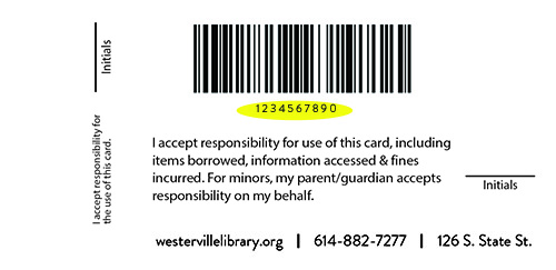 Photo of Library Card Keycard or Fob